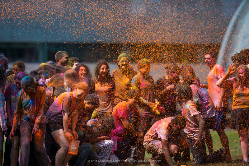 Holi at MIT.