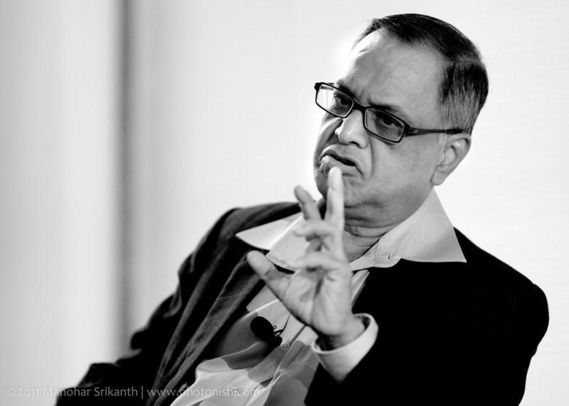 Mr. Narayanamurthy, Co-Founder of Infosys.
