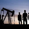 1_SUNRISE, RIGS, WORKERS <br /> 1D_SUNRISE, RIGS, WORKERS <br /> workers in oil field.jpg