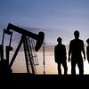 1_SUNRISE, RIGS, WORKERS <br /> 1D_SUNRISE, RIGS, WORKERS <br /> workers in oil field.jpg
