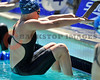 17 May 2008:  Madison White during the Women's 100 meter backstroke preliminaries during the XLI Santa Clara International Invitational at the Santa Clara Swim Club in Santa Clara, CA.  White qualified for the Olympic Trials with a time of 103.54.