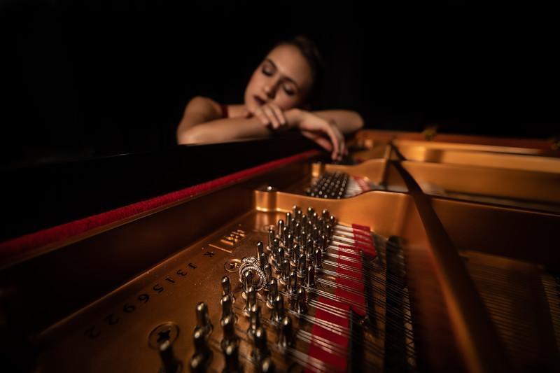 Marie Piano Shoot