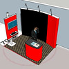 conference booth close