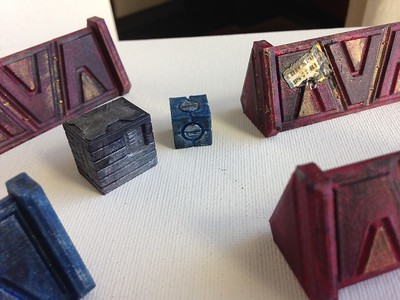 40K Terrain and Objective Markers