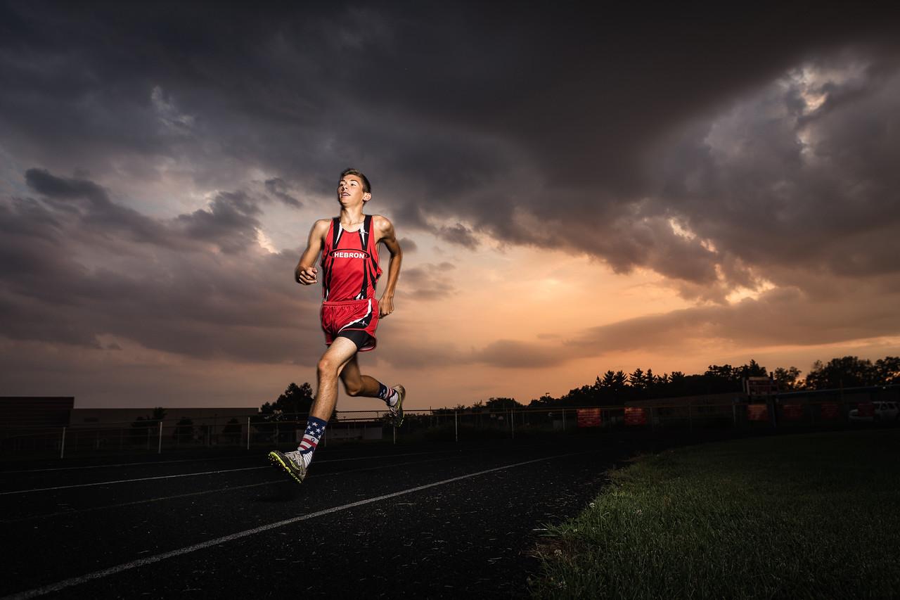Parker - senior sports portraits