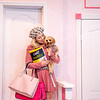 """Amarillo Little Theatre presents """"Legally Blonde""""at the Mainstage. Elle Woods played by Terry Martin and Bruiser the dog played by Bentley Crespin. [Shaie Williams for Amarillo Globe News]"""