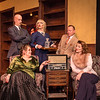 "Shaie Williams for AGN Media. Amarillo Little Theatre  presents ""The Musical Comedy Murders of 1940"". left to right. Marley Hoggatt (Bernice), Liz Wilson (Elsa), Zeke Lewis (Kelly), Tony Brazell (Roger), Michael Newman (O'Reilly), Cheyenne Haynes (Nikki), Brooks Boyett (Eddie), Ryan Sustaita (Helsa) Dennis Humphrey (Ken) and Kristen Loyd (Marjorie). Photo taken at ALT Mainstage in Amarillo TX on January 9, 2018."