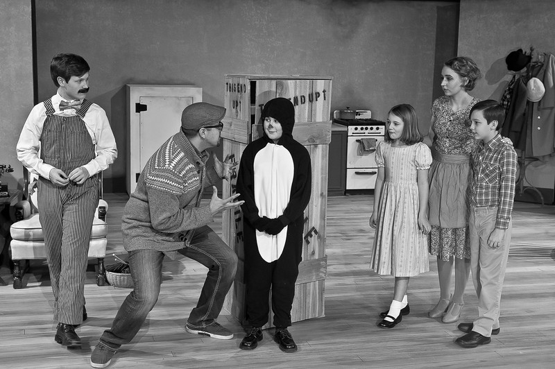 "Shaie Williams for AGN Media. Amarillo Little Theatre Academy presents ""Mr. Popper's Penguins. Photo taken at ALT Academy  in Amarillo TX on December 2, 2017."