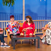 "Shaie Williams for AGN Media. ALT presents ""The Savannah Shipping Society.  Anne Lankford as ""Dot"" on the left, Kim Shreffler as ""Marlafaye"", Carrie Huckabay as ""Jinx"" and Holly Czuchna as ""Randa"" on far right at ALT inAmarillo, TX. on February 20, 2018"