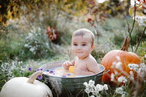 Evelyn Rose, 9 months