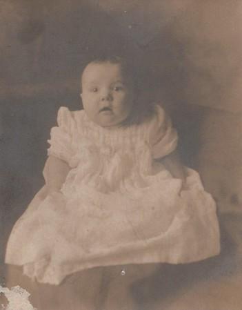 Emily Wallan, age 6 months