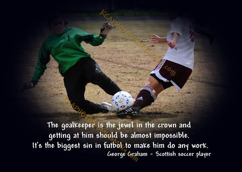 The Goalie - George Graham