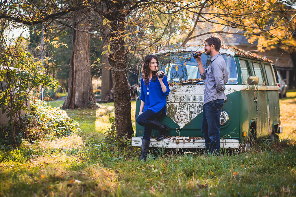 Engagement Photos in Fall