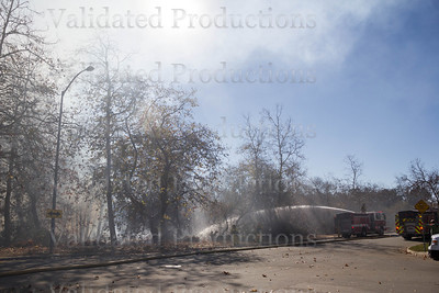 Gabilan Creek Fire - January 17, 2014