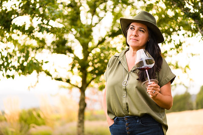 Hispanic winemakers at Atticus Wine in Yamhill, Ore. on August 30, 2020. (Michael Cary Arellano)