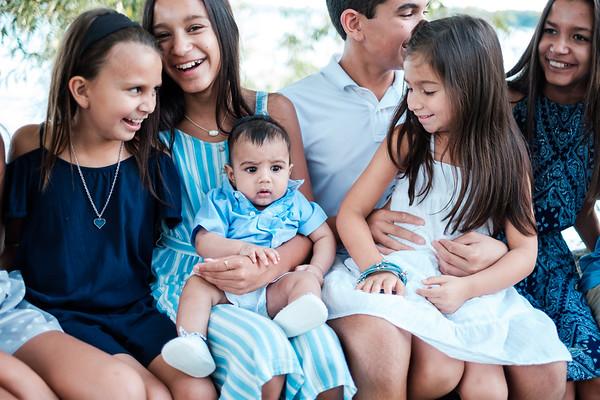 Family photos at Williams Bay, WI. Photo by Mindy Joy Photography.