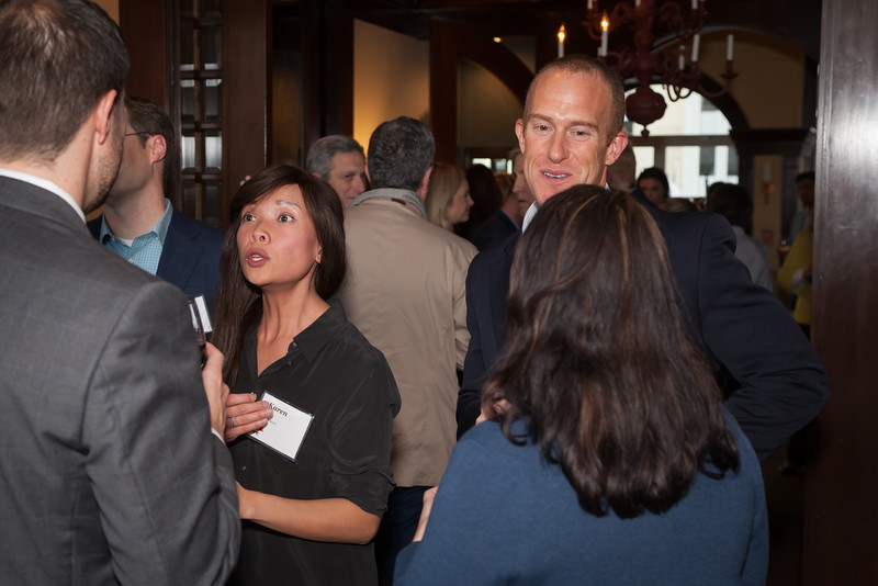 Alumni Cocktail party at the Wingtip club in San Francisco, Ca.