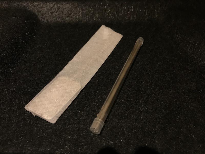 Silver Anode (1 Oz Bullion .999 purity) + 12 gauge cathode silver wire