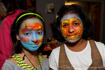 "Summit Medical Group: ""The Child Within"" Art Opening (Face Painting by AgostinoArts.com)"