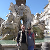 Piazza Navona, Fountain of the Four Rivers, Fountain of the Four Rivers (Bernini, 1651)