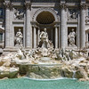 Trevi Fountain (designed by Nicola Salvi, completed by Pietro Bracci, 1762)