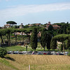 View of Aventine from Palatine Hill