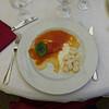 spinach ravioli & gnocchi (best ever), al Giardino del Gatto e la Volpe