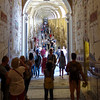 Approaching Hall of Statues, Vatican Museums