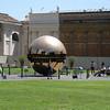 """Sphere within a Sphere""  Arnaldo Pomodoro"