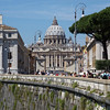 St. Peter's from Ponte Sant'Angelo