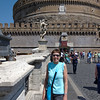 Bryna on on Ponte Sant'Angelo