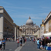 St. Peters Basilica from V D Conciliazione