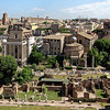 Temple of Antoninus & Faustinia (begun in 141), Temple of Romulus  (circa 306 CE)