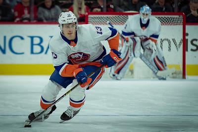 NHL Hockey 2020:  Neww York Islanders vs Carolina Hurricanes JAN 19, 2020.