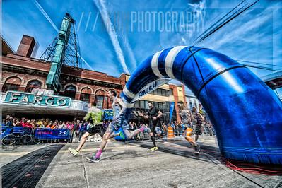 Fargo Marathon 2014 - Finish wave
