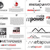 Kendra's first proposal for new MetaPower logos.