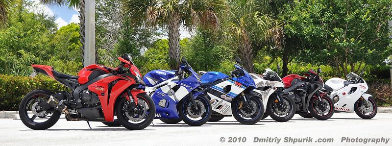 Sport Bikes - Photo by Dmitriy Shpurik .com