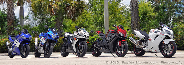 Sport Bikes - Photo by Dmitriy Shpurik .com
