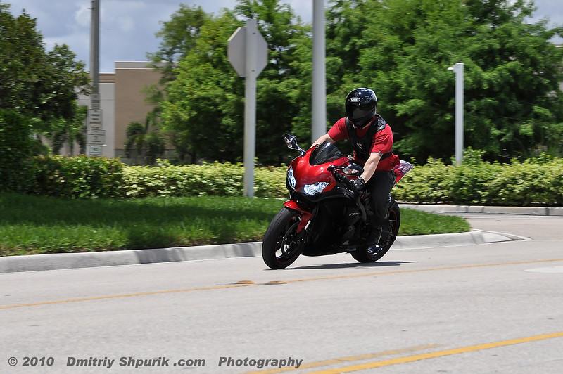Michael, HONDA CBR - Photo by Dmitriy Shpurik .com