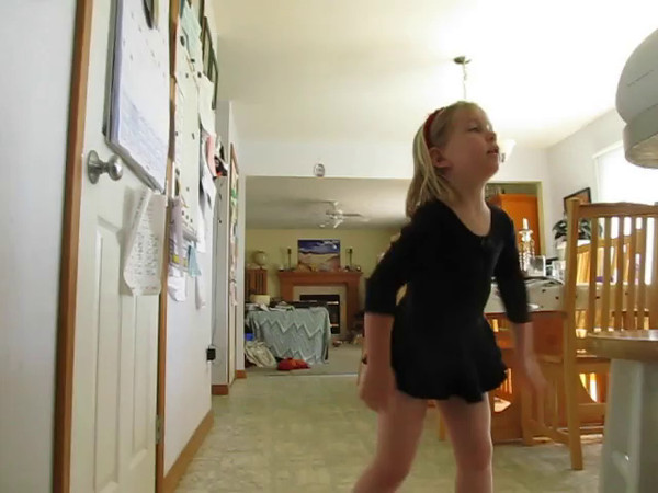 """Fiona dancing to """"The One Feathered Tail of Gertrude McFuzz"""" from Seussical the Musical"""