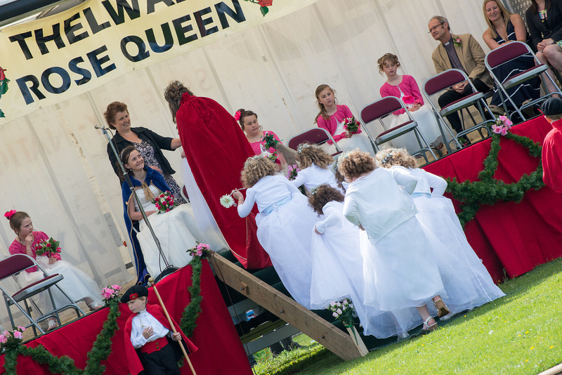 Thelwall Rose Queen 15th June 2013 - by Mike Moss Photography-260