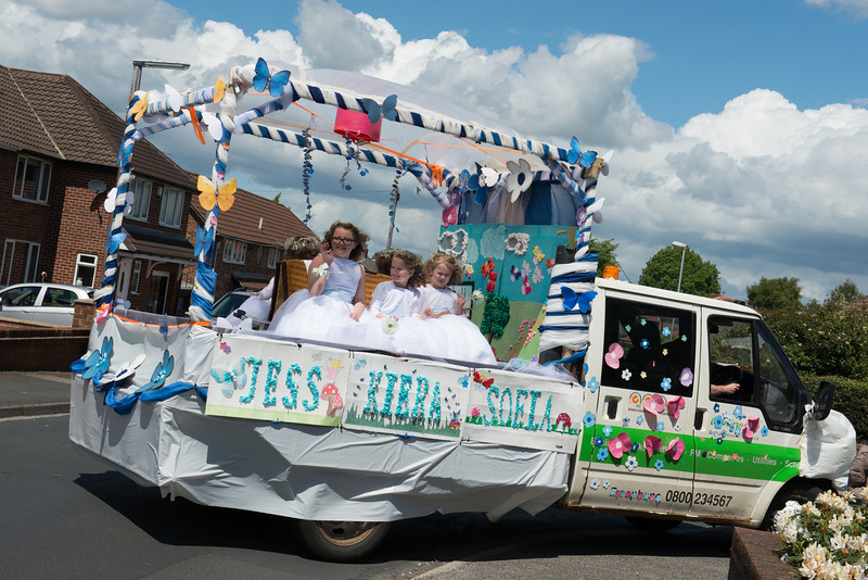 Thelwall Rose Queen 15th June 2013 - by Mike Moss Photography-158