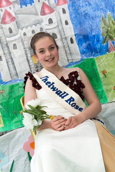 Thelwall Rose Queen 2014-73