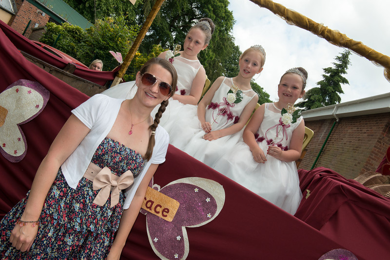 Thelwall Rose Queen 2014-77