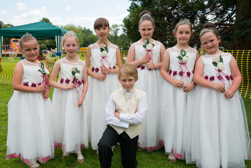 Thelwall Rose Queen 2014-54