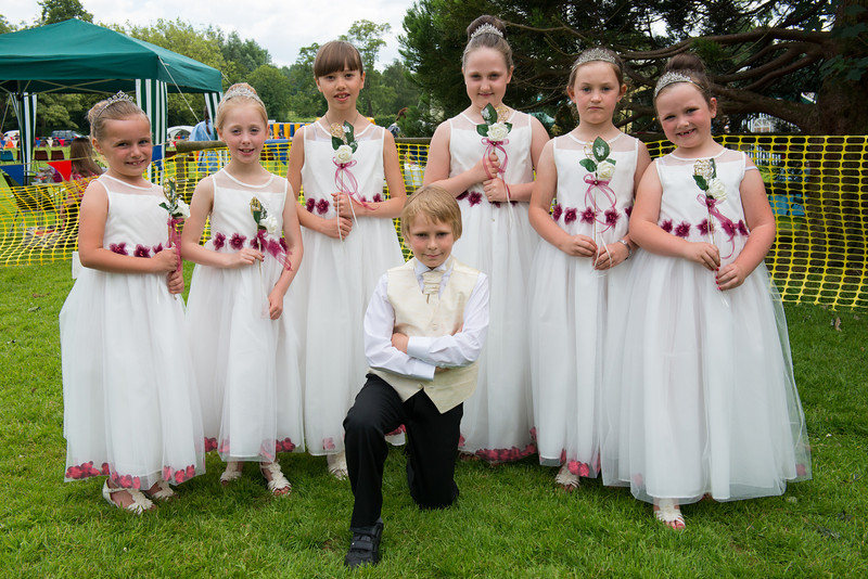 Thelwall Rose Queen 2014-52