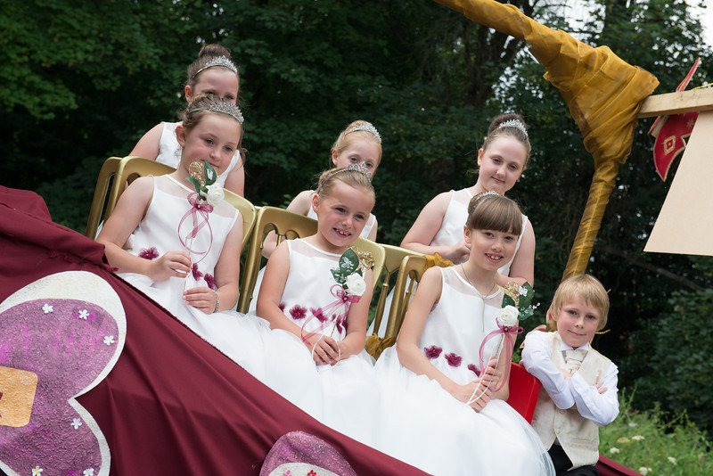 Thelwall Rose Queen 2014-71
