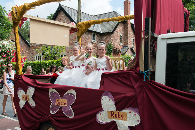 Thelwall Rose Queen 2014-129