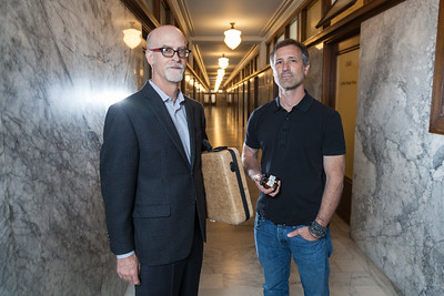 Patrick D. Goggin and Michael Perry in San Francisco, Ca.
