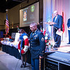 Shaie Williams for AGN Media. Displaying the Wreath for the fallen soldier at the Armed Forces Day Banquet  in Amarillo, TX Held at the Amarillo Civic Center on May 21, 2016.